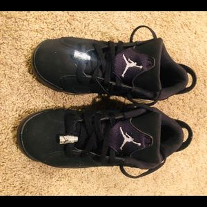 "AIR JORDAN 6 RETRO LOW BG ""CHROME"" SIZE 5Y used"